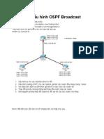 Lab cấu hình OSPF Broadcast