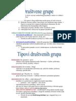 Sociologija Skripta - Kraj Godine