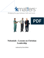 Nehemiah Lessons on Leadership