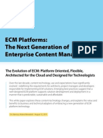 ECM Platforms- The Next Generation of Enterprise Content Management Whitepaper