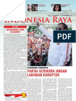Tabloid Gema Indonesia Raya (Maret 2012)