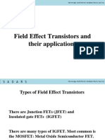 Fets and Applications Final