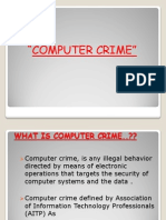 Computer Crime [Repaired]