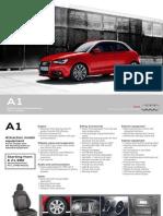 A1 Price Specs Sheet
