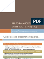PPT - Joe Sack Performance Troubleshooting With Wait Stats