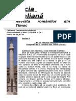 LXXXV Negaţia Negaţiei (Tragedii de la românii din Timoc-Serbia). Partea I