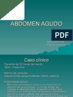 Abdomen Agudo Enterocolitis Necro