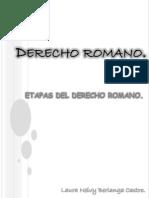 Derecho Romano (Etapas Del Derecho Romano)