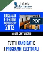 Guida Alle Elezioni Amministrative 2012 - Monte Sant'Angelo