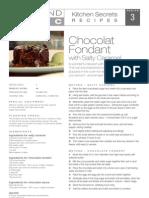 Chocolate Fondant With Salty Caramel 3