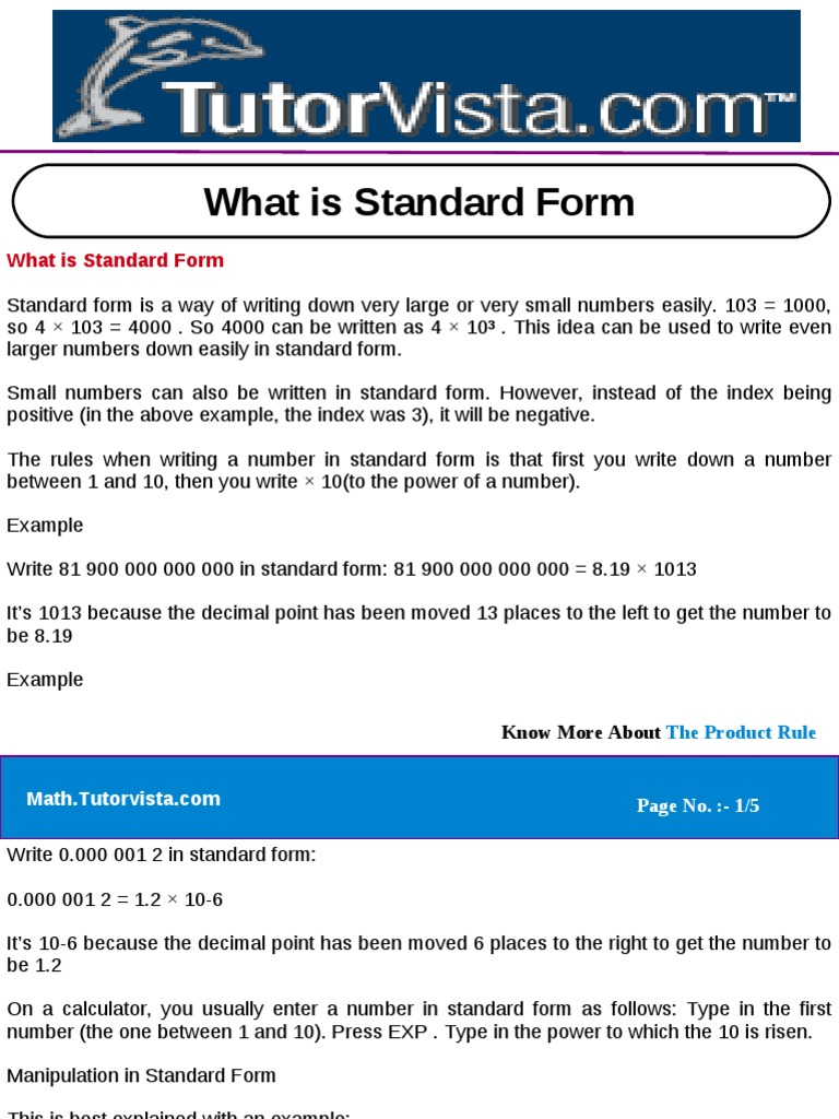 What is standard form polynomial factorization falaconquin