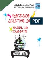 Manual Do Candidato PENSE 2012