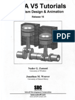 CATIA V5 Tutorials-Mechanism Design and Animation-Release 16 Happy New Year 2009
