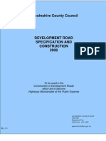 Development Road Specification and Construction Amended February 2009