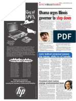 TheSun 2008-12-12 Page14 Obama Urges Illinios Governer to Step Down