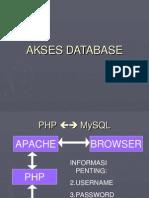 Akses Database