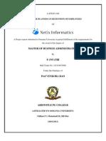 Project Delaration Abstr Index