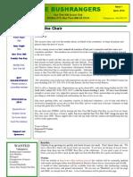 OTHSC Newsletter, Issue 1, April 2012