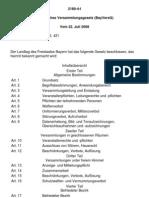 Bayerisches Versammlungsgesetz (BayVersG)