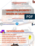 Charla Operacion de Calderas, Administradores de Condominio