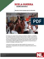 16-04-12 Promueven Marcela e Ivonne apoyos para la educación