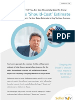 The Buyer's Should-Cost Estimate