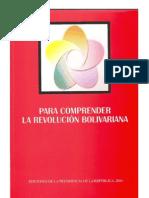 COMPRENDER LA REVOLUCIÓN BOLIVARIANA