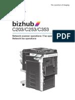 Bizhub c203 c253 c353 Networkscanner Fax Networkfax 2-1-0 En