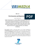 D2.1.2 First Scenarios and Requirements v1.02