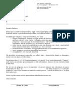 Carta p. Dispensa Escolar