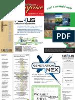NEXUS CHRISTIAN FELLOWSHIP Brochure