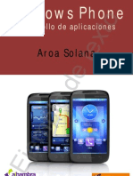 Windows Phone. Desarollo de Aplicaciones (Ejemplo)