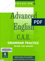Focus on Advanced English - Gr Practice