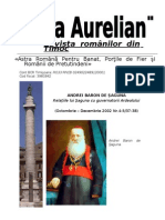 ANDREI BARON DE ŞAGUNA