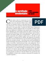 Accardo, Alain - De Notre Servitude Involontaire