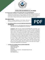 Wsa - Services Agenda