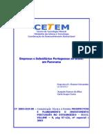 Estudo do investimento português no Brasil - 2003