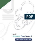 UniversalTypeServer-CoreClient-UserGuide