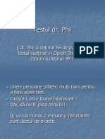 Testul Dr Phil