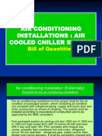 Construction Measurement III Air Conditioning Central System BQ
