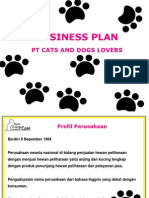 E-commerce (Bussiness Plan - PT cat and dog lover)