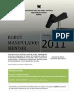 Trabajo Final Robot Manipulador Mentor (Educacional)