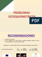 Problemas Estequiometria