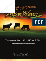 Sale Catalog - National Canadian Holstein Convention Sale