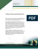 Student Spending Behavior