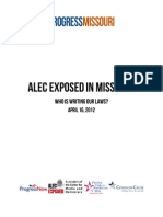 ALEC Exposed in Missouri - 2012-04-16