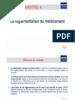 Règlementation du Médicament partie 1