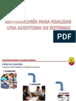 Presentación No. 3 - Metodolgía Para Realizar una Auditoría de Sistemas
