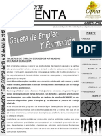 Gaceta Empleo Opea 05912296
