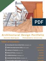 D Rodriguez Architecture Portfolio
